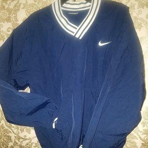 Nike pullover batting warmup jacket M